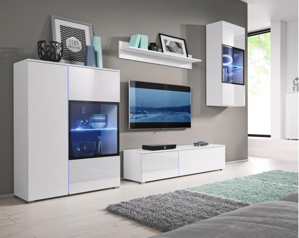 Moderní bytový nábytek Sing A + LED - Inspirace a fotogalerie