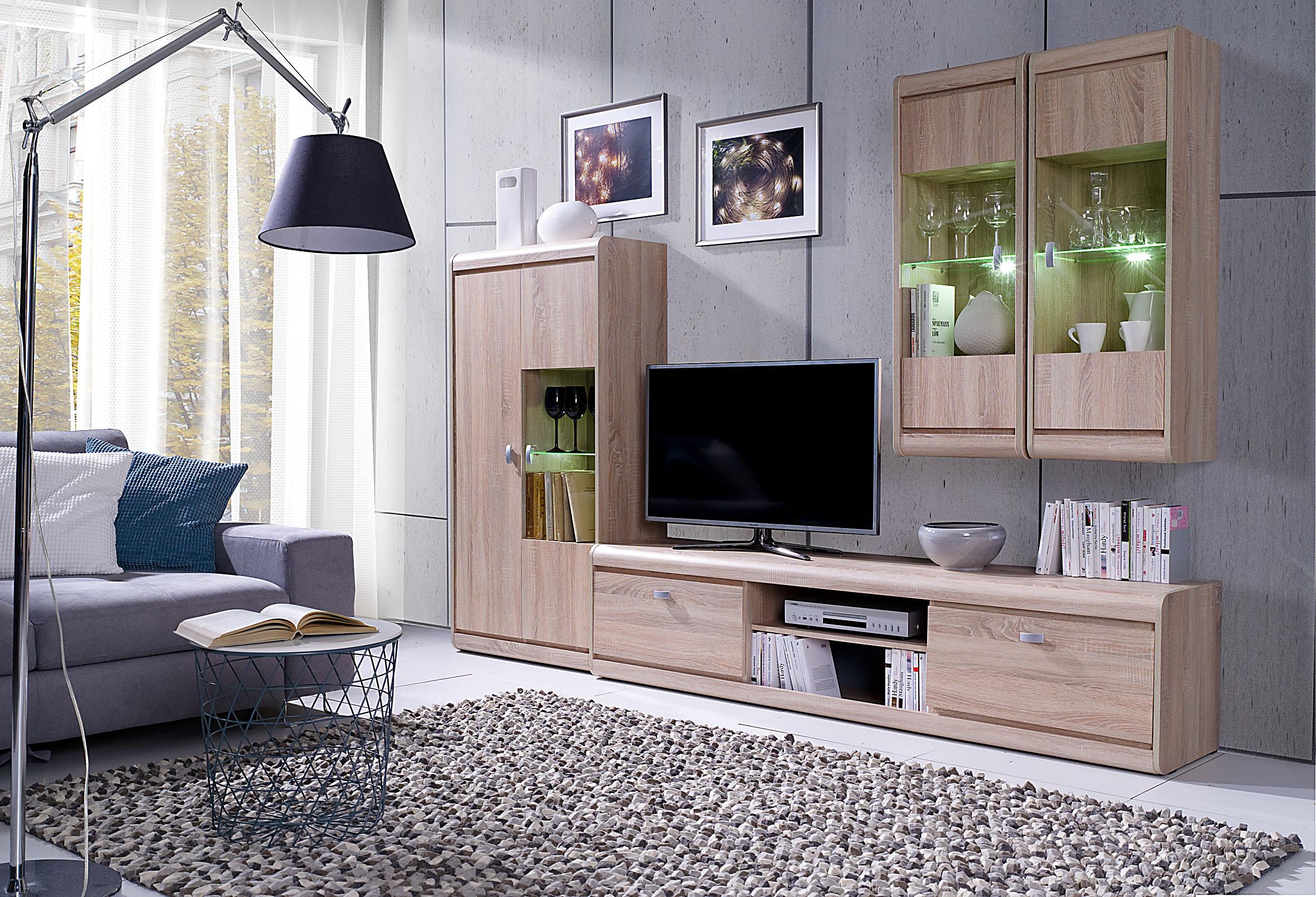 Moderní bytový nábytek Spezzo sestava A