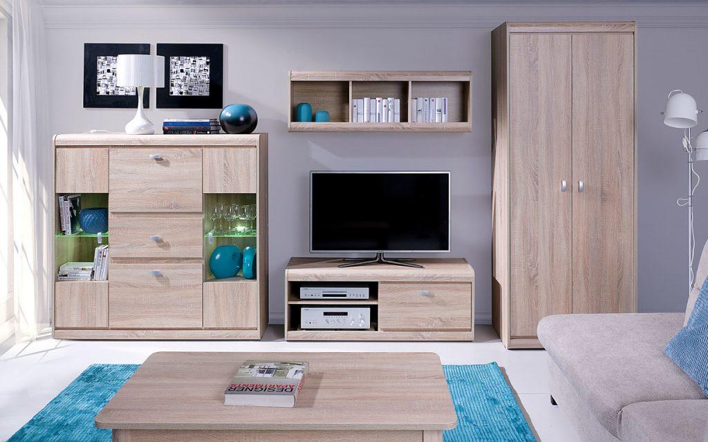 Moderní bytový nábytek Spezzo sestava C