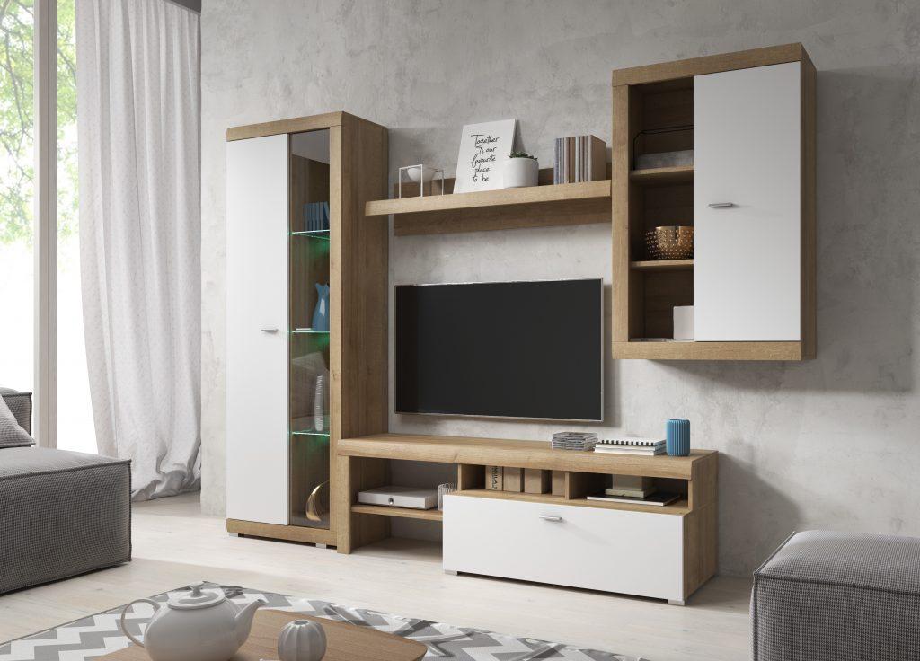 Moderní obývací pokoj Sunny - Inspirace a fotogalerie