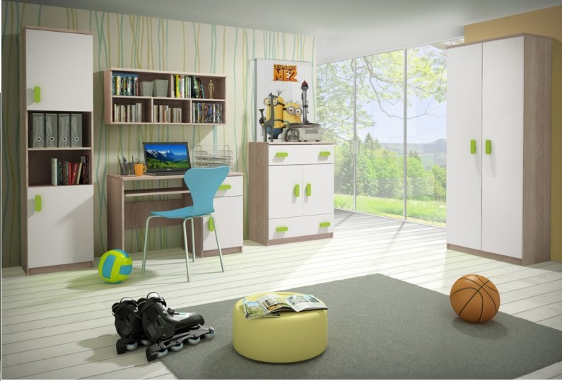Dětský pokoj Stone C - Inspirace a fotogalerie