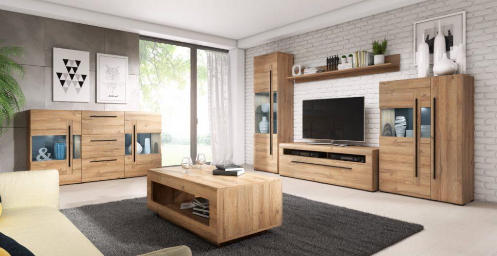 Moderní bytový nábytek Toulouse sestava B
