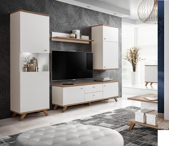 Moderní obývací pokoj Vinnie - Inspirace a fotogalerie