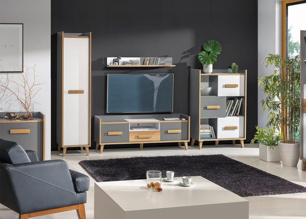 Moderní bytový nábytek Vesuv sestava B - Inspirace a fotogalerie