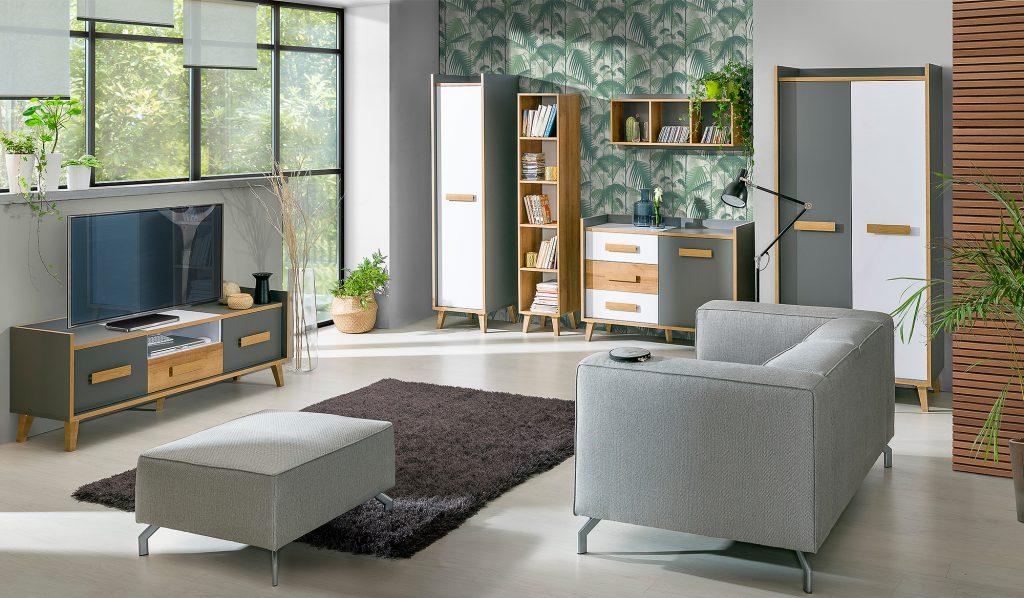 Moderní bytový nábytek Vesuv sestava C - Inspirace a fotogalerie