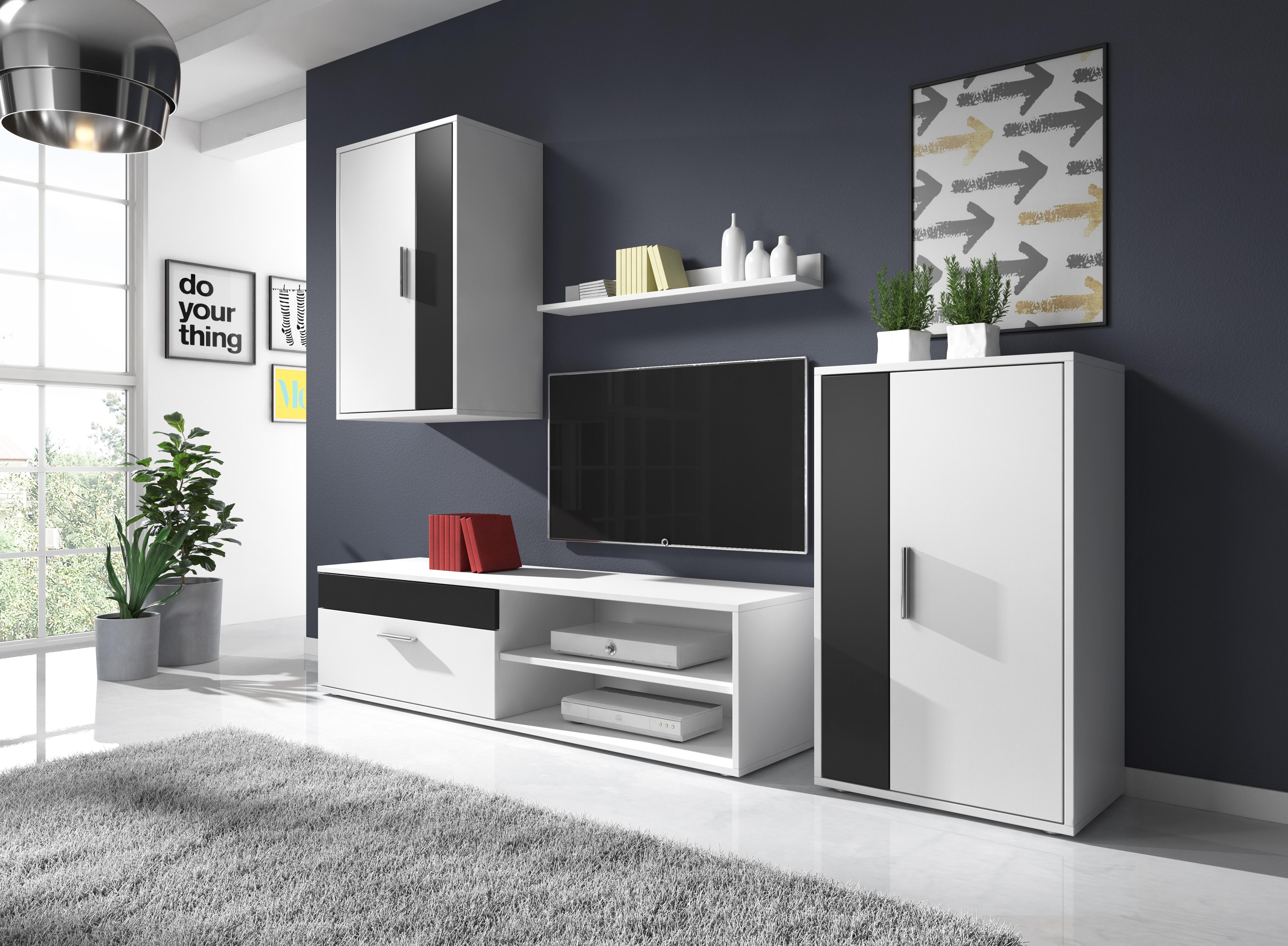 Moderní obývací stěna Toreto