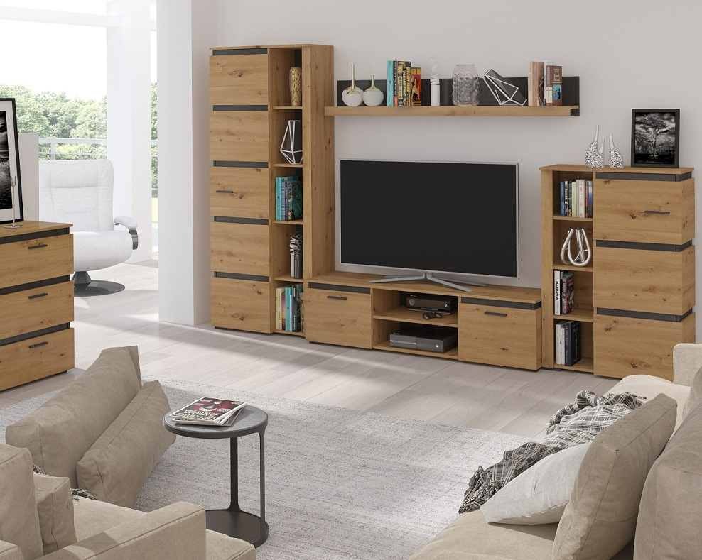 Moderní obývací stěna Finka