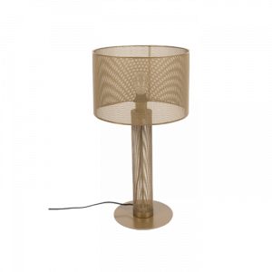 Zlatá kovová stolní lampa Bold Monkey Sweet Mesh - Celková výška64