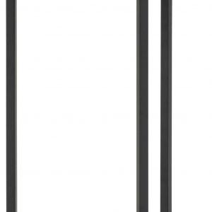 SCANDI Dubový kulatý odkládací stolek na lampu Darila 65 cm - Výška65 cm- Průměr move 33 cm