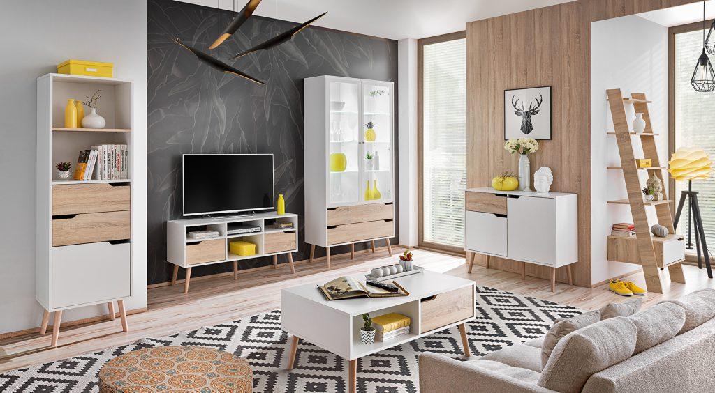 Moderní bytový nábytek Fiesta sestava A