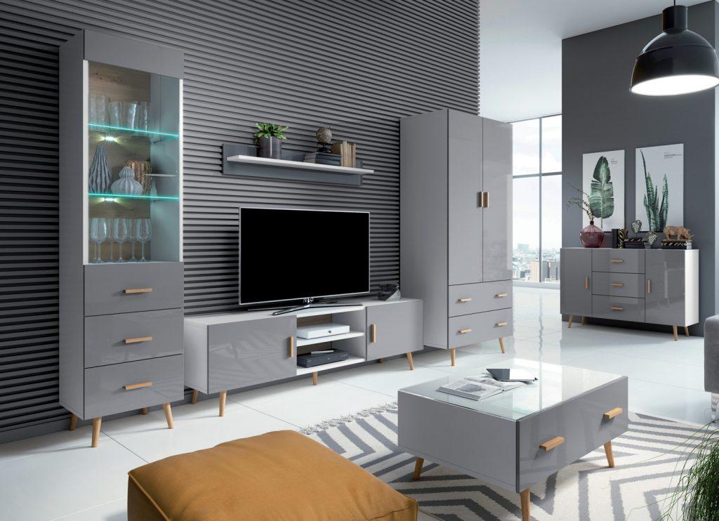 Obývací nábytek Viscon sestava A - Inspirace a fotogalerie