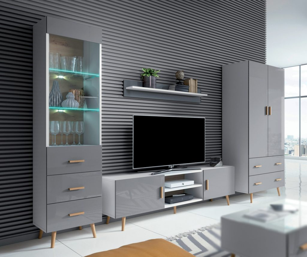 Obývací nábytek Viscon sestava B - Inspirace a fotogalerie