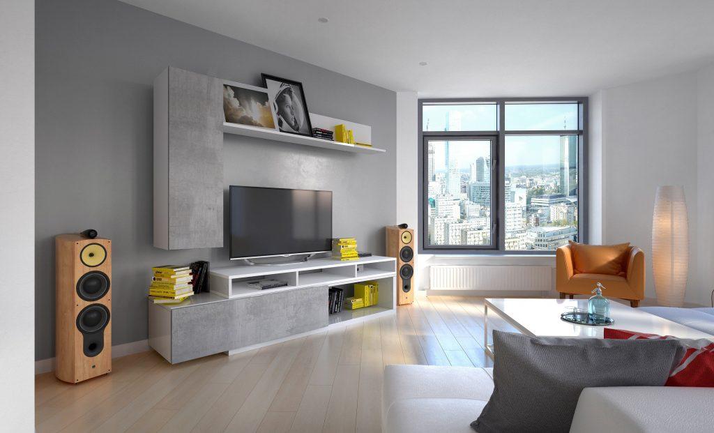 Moderní obývací stěna Marie