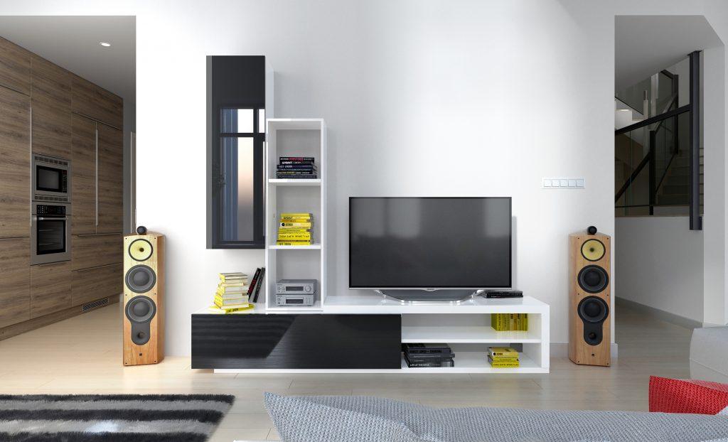 Moderní obývací stěna Naspe