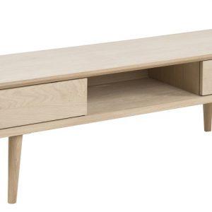 SCANDI Dubový TV stolek Celia 160 cm - Šířka160 cm- Výška 43 cm