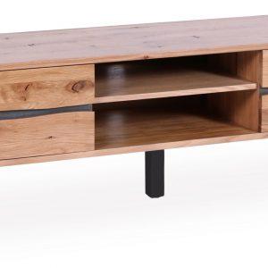 Moebel Living Masivní dubový TV stolek Axel 160 x 40 cm - Výška50 cm- Šířka move 160 cm