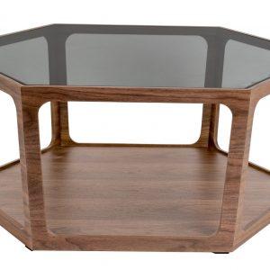 Skleněný konferenční stolek DUTCHBONE Sita 92