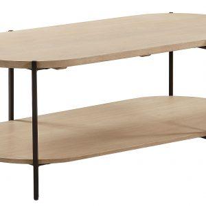 Dřevěný konferenční stolek LaForma Palmia 110 x 55 cm - Výška45 cm- Šířka move 110 cm