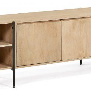 Dřevěný TV stolek LaForma Palmia 160 x 40 cm - Výška56 cm- Hloubka move 40 cm