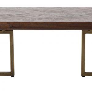 Hnědý konferenční stolek DUTCHBONE Class 120x60 cm - Šířka120 cm- Výška 35 cm