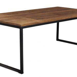 Masivní mangový konferenční stolek DUTCHBONE Randi - Výška41 cm- Šířka 110 cm