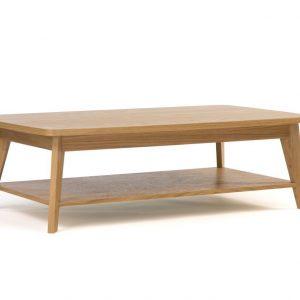 Dubový konferenční stolek Woodman Kensal 115x65 cm - Výška65 cm- Šířka move 115 cm