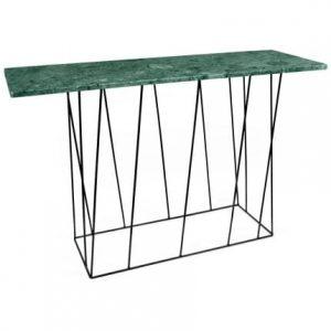 Porto Deco Zelený mramorový toaletní stolek Rofus 120 cm - Šířka120 cm- Hloubka move 40 cm