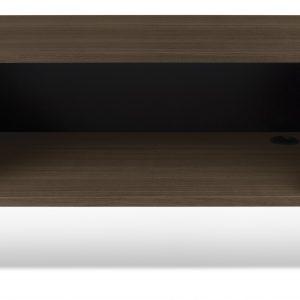 Porto Deco Ořechový TV stolek Dexi 140 x 40 cm - Výška51 cm- Šířka move 140 cm