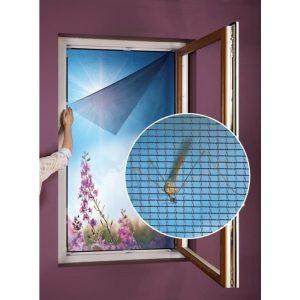 Síť do okna proti hmyzu a pylu 130 x 150 cm - Velikost130 x 150 cm- Výška 150 cm
