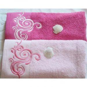 Forbyt Ručník Sabrina sv. růžová 70 x 140 cm - barva ručníkusv. růžová- Velikost 70 x 140 cm