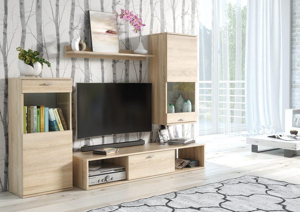 Moderní obývací stěna Radek