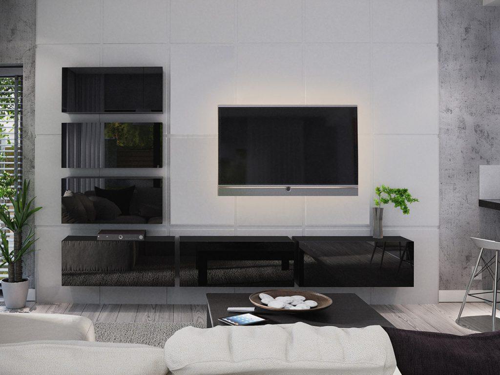 Moderní obývací stěna Bonny 04