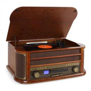 Retro stereo zařízení Auna Belle Epoque 1908