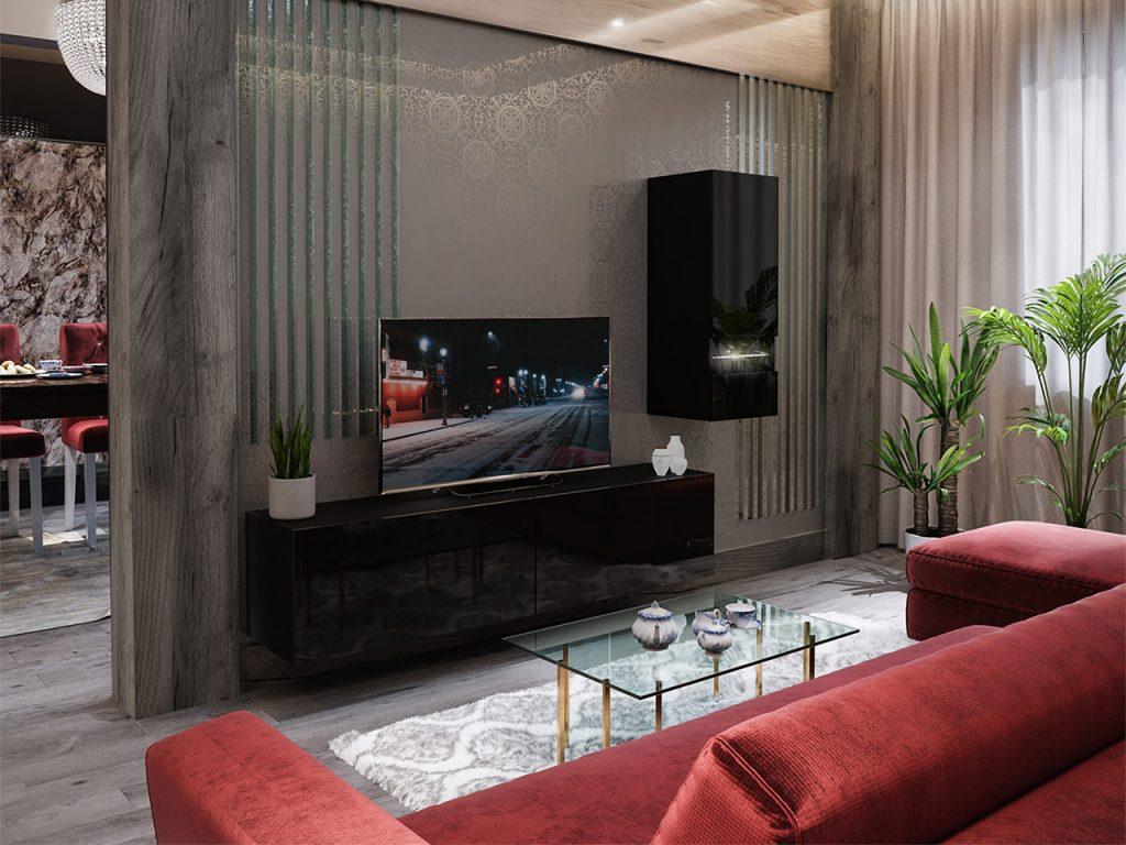 Moderní obývací stěna Bonny 15