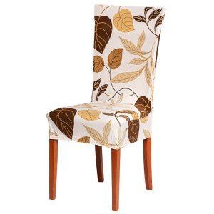 Potah na židli s potiskem