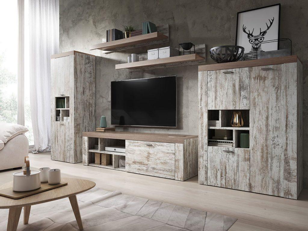 Designová obývací stěna Amelie