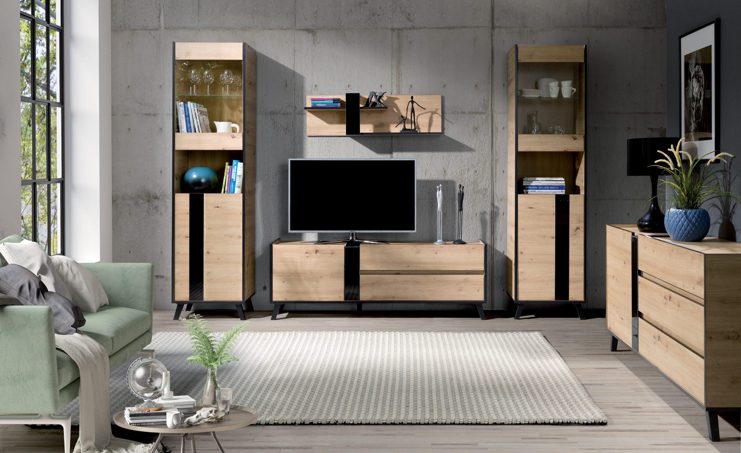 Moderní bytový nábytek Fenix sestava A - Inspirace a fotogalerie
