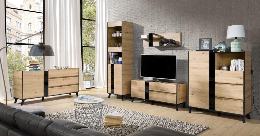 Moderní bytový nábytek Fenix sestava C - Inspirace a fotogalerie