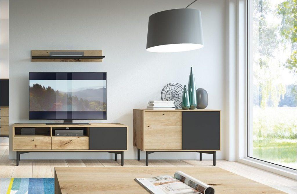 Moderní bytový nábytek Fleming sestava C - Inspirace a fotogalerie