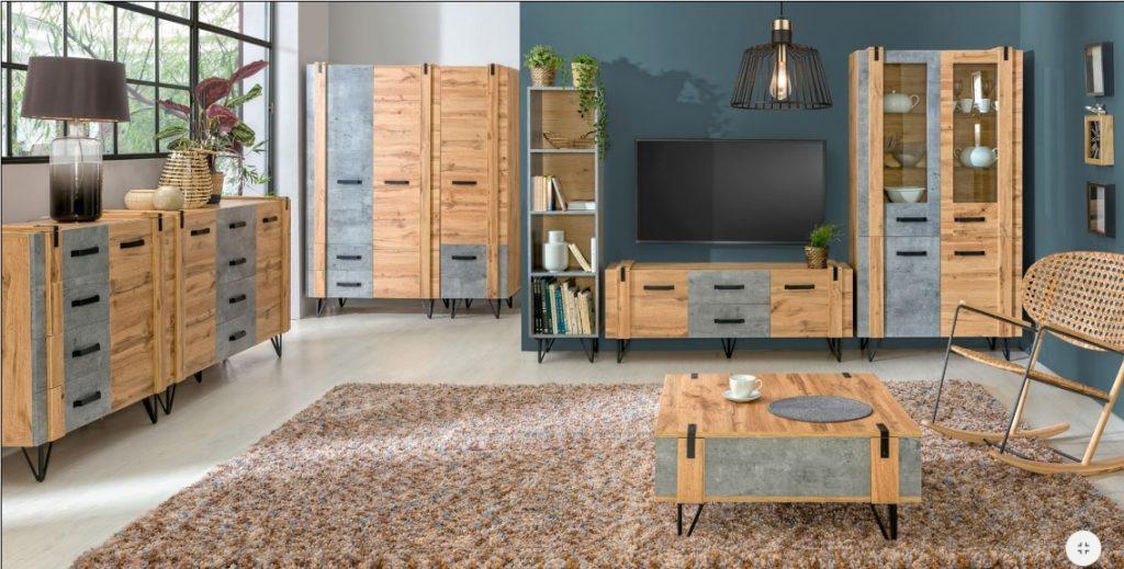 Moderní bytový nábytek Laser E