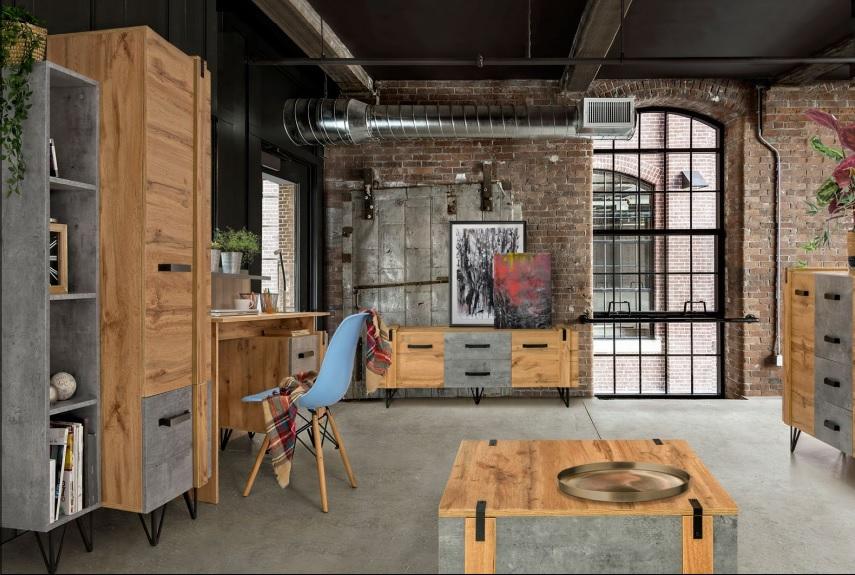 Moderní bytový nábytek Laser F
