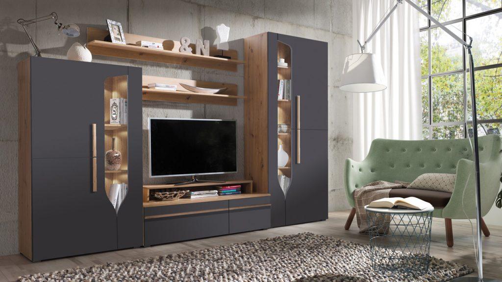 Moderní obývací stěna Paradise E