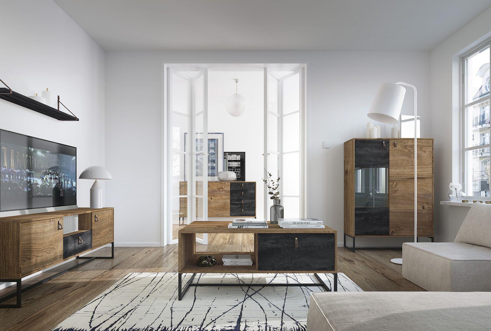 Moderní bytový nábytek Tajga sestava B - Inspirace a fotogalerie