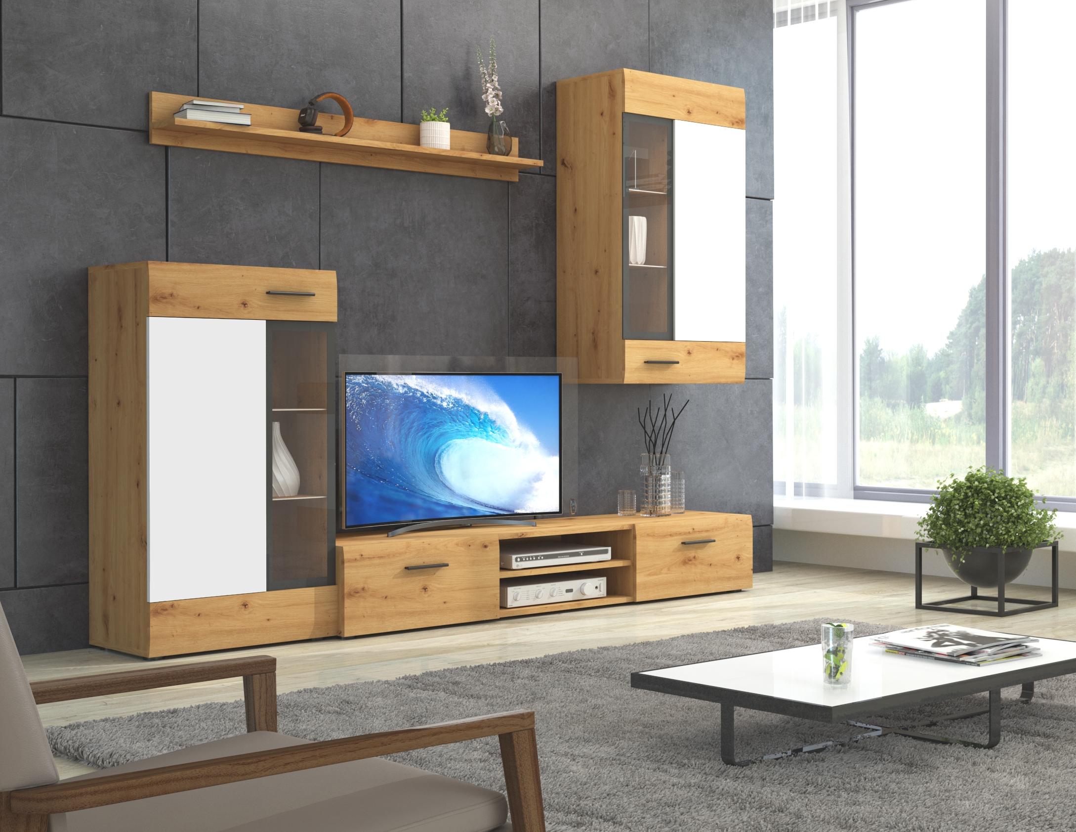 Moderní obývací stěna Tiego