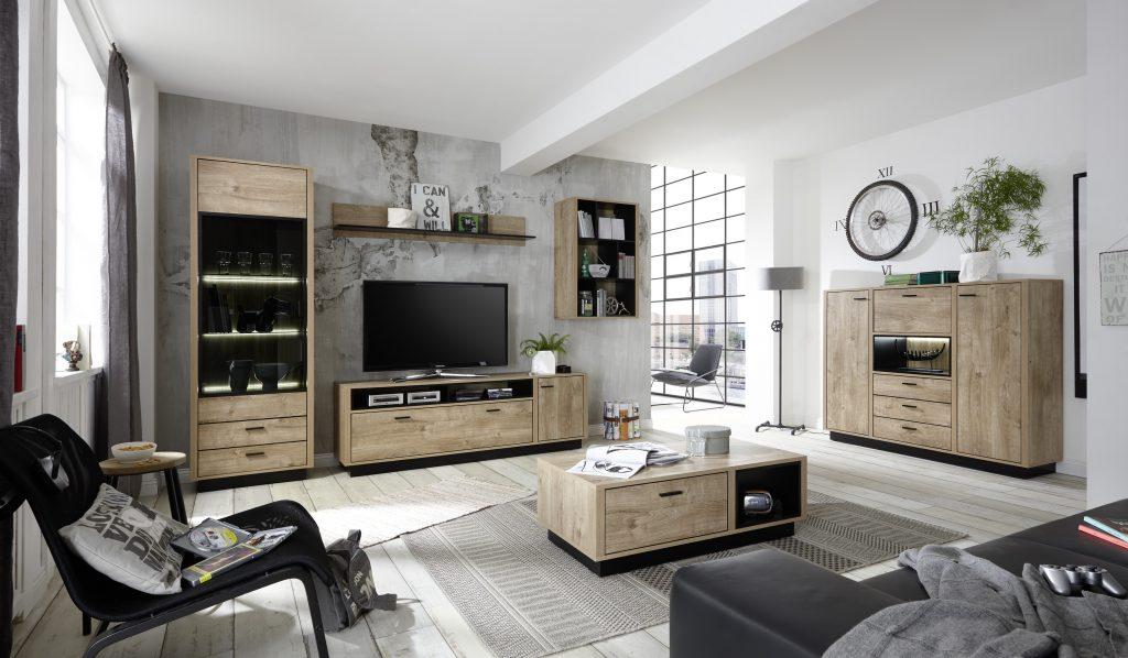 Moderní bytový nábytek Weber B