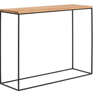 Nordic Design Bukový toaletní stolek Moreno 100 x 35 cm - Výška75 cm- Šířka 100 cm