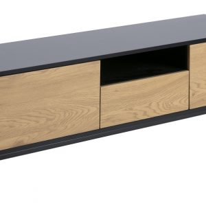 SCANDI Dubový TV stolek Darila 140 cm - Výška45 cm- Šířka move 140 cm