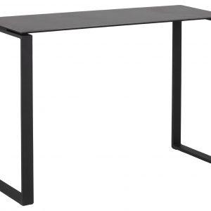 SCANDI Šedý keramický toaletní stolek Jakon 110 x 40 cm - Šířka110 cm- Výška 76 cm
