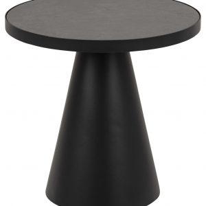 SCANDI Černý keramický konferenční stolek Sandro 45