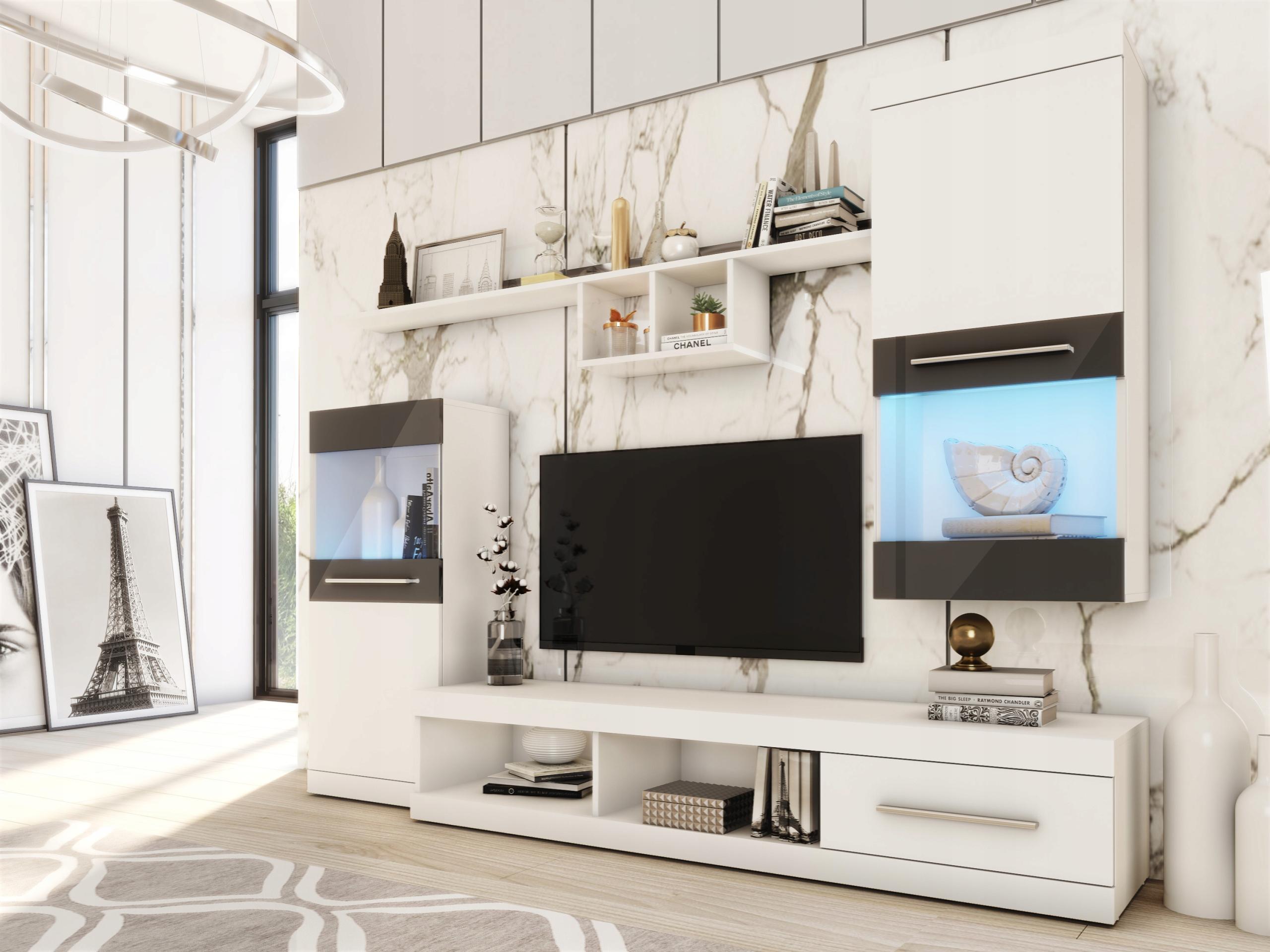 Moderní obývací stěna Nieve